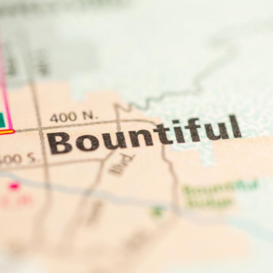 bountiful map
